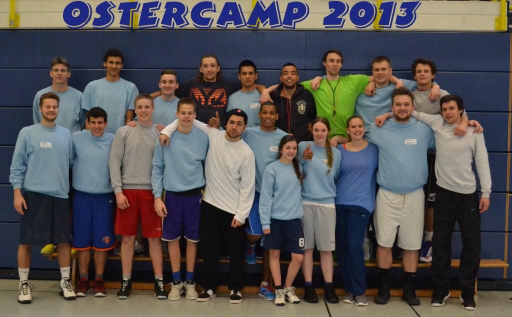 Die Ostercamp-Coaches 2013